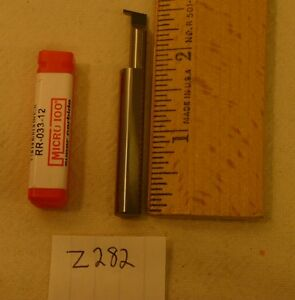 3 New Micro 100 Carbide Retaining Ring Grooving Tool Rr 033 12 z282