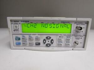 Agilent 53150a Microwave Frequency Counter 10hz 20ghz Opt 001