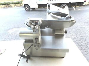 Globe Automatic Electric Deli Cheese Meat Slicer Auto Slicing Machine Sharpener