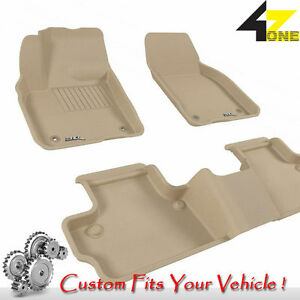 3d Fits 2007 2013 Volvo C30 G3ac84011 Tan Waterproof Front And Rear Car Parts Fo