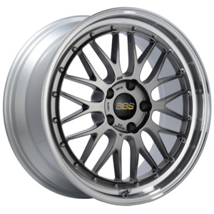 Bbs Lm 19x8 5 5x120 Et32 Diamond Black Center Diamond Cut Lip Wheel 82mm