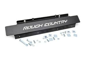 Rough Country Front Below Bumper Skid Plate Jeep Jk Wrangler Unlimited 07 18 4wd