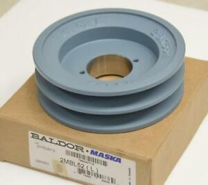 Baldor Maska 2mbl52 2 groove Bushed Bushing Type Sheave Pulley 5 25