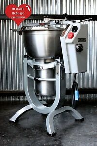 Hobart Hcm450 45 Qt Vcm Dough Cutter Vertical Tilt Mixer Chopper Pizza Hcm 450