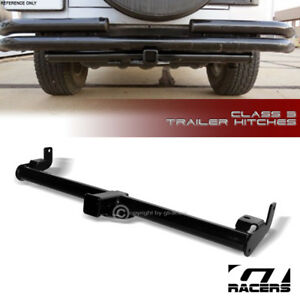 For 1997 2006 Jeep Wrangler Class 3 Trailer Hitch Receiver Bumper Towing 2 V2