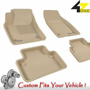 3d Fits 2004 2011 Volvo S40 G3ac22877 Tan Waterproof Front And Rear Car Parts Fo