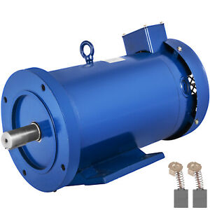 Dc Motor 2hp 145tc Frame 180v 1750rpm Tefc Magnet Dynamic Dominate Continuous