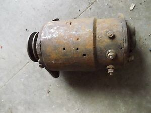 Farmall A B C Tractor Original 6v Generator Good Belt Drive Pulley