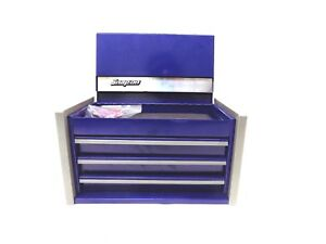 Snap On Midnight Blue Mini Micro Top Chest Tool Box Rare Brand New In Box