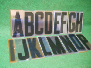 8 Inch Flexible Plastic Sign Letters For Marquee Sign 291 Pcs Set 8 7 8 Used