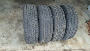 Lot Of 4 185 70r14 88r Bridgestone Blizzak Winter Snow Tires Local Pickup