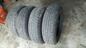 Lot Of 4 Hankook Tires 185 70r14 87t Local Pickup