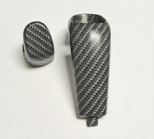 04 06 Pontiac Gto Automatic Shifter Shift Knob Carbon Fiber Push Button Bezel