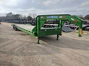 40 Foot Carhauler equipment Gooseneck Trailer load Trail green brand New