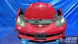 02 04 Honda Integra Rsx Type R Dc5 Red Front Nose Conversion Jdm K20a