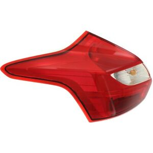 Tail Light For 2012 2014 Ford Focus Driver Side