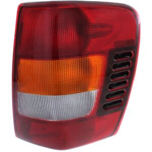 Halogen Tail Light For 2002 2004 Jeep Grand Cherokee From 11 01 Right W Bulb S