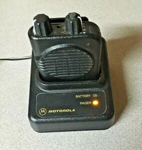 Motorola Minitor Iv 4 A04kus9239bc Uhf 2 channel Pager 470 475 999 Mhz