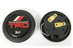 Trd Car Horn Button Steering Wheel Center Cap Black