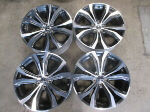 Four 2019 Lexus Rx350 Rx450h Factory 20 Wheels Rims Oem 74338 Highlander Rx300