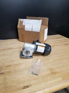Dayton Model 1xfz3 Gear Motor 173 Rpm 1 8 Hp Tefc 115v