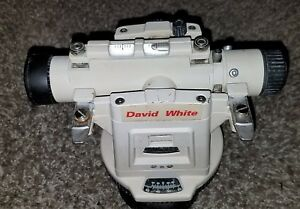 David White Lt8 300 Universal Transit Level With Case