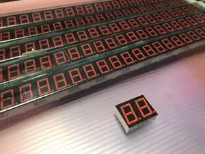 New Lot 50 2 Digit Led Display 7 Segment Common Red Liteon Ltd 6740p
