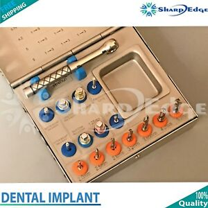 Dental Implant Surgical Drill Kit Sinus Lift Ratchet Wrench Oral Surgery Kit