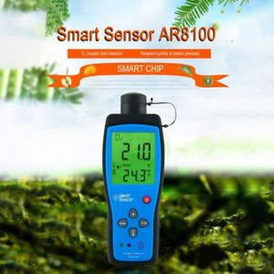 Air Quality Monitor Meter O2 Oxygen Temperature Gas Detector Analyzer Tester Sl