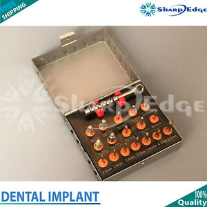 Dental Implant Surgical Drill Kit Compact Drill Kit Hex Driver Parallel Pins Kit