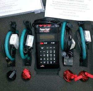 Ps 3000 Powersight Power Analyzer Kit With Case And Accessories