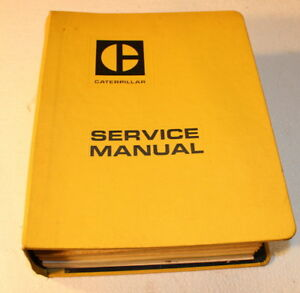Cat Caterpillar Master Mechanic Tractor Repair Shop Service Manual Book Complete