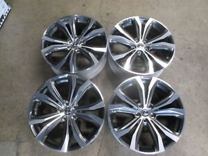 Four 2018 Lexus Rx350 Rx450h Factory 20 Wheels Rims Oem 74338 Highlander Rx300