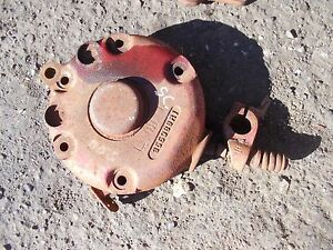 Farmall Super C Tractor Original Ih Disk Disc Ihc Brake Cover 355989r1