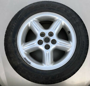 1999 2004 Land Rover Discovery 2 Rear Spare Wheel W Goodyear Tire 255 75r18 Oem