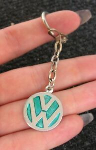Vw Key Chain Ring Vintage Car Accessory Volkswagen Bug Beetle Cox Bus T1 2 Nos