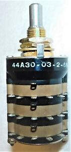 Grayhill 44a30 03 2 6n Rotary Switch Unused Nos