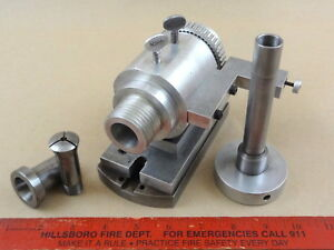Very Nice 3at Collet Indexing Fixture Tool Machinist Milling Lathe