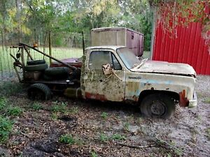 Vintage 1940 S Manley Boom For Tow Truck 1977 3 4 Ton Chevy Truck For Parts