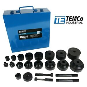 Temco Dimple Die Set Tool Kit 8pcs 1 2 3 4 1 1 1 4 1 1 2 1 3 4 2 2 1 2