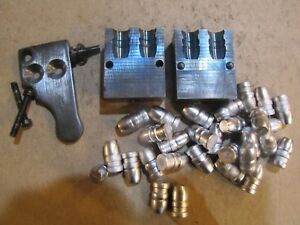 Lyman 358665 Double Cavity Cowboy Bullet Mold Lead Bullet Casting Mould