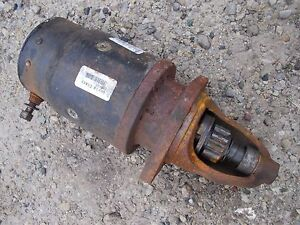 Oliver 88 Tractor Remanufactured Good Working 6 Volt 6v Starter Assembly