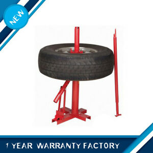 Manual Portable Hand Tire Changer Bead Breaker Tools Mounting Home Shop Auto New