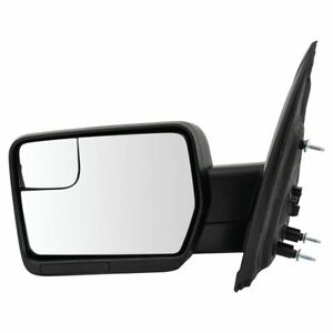 Mirror Power Textured Black Driver Side Left Lh For 11 14 Ford F150 New
