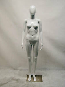 Free Shipping Female Plastic Mannequin Display Head Turns ps feg10w