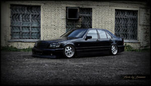 92 99 Mercedes Benz S Class W140 Body Kit Junction Produce Style Shine Auto
