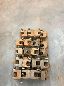 48 Iron 3 8 Beam clamp Made For 3 8 All thread Rod Plumbing electrical