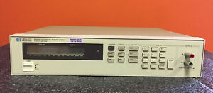 Hp Agilent 6633a opt 020 0 To 50 Vdc 0 To 2 Adc Dc Power Supply Tested