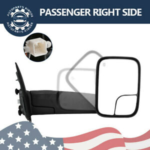 Passenger Right For 02 08 Dodge Ram 1500 03 09 2500 3500 Tow Mirror Power Heated