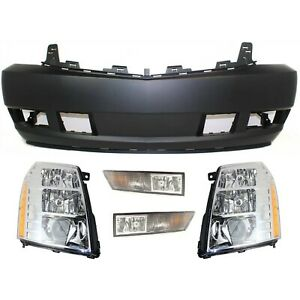 New Kit Auto Body Repair Front For Cadillac Escalade Esv Ext 2009 2013